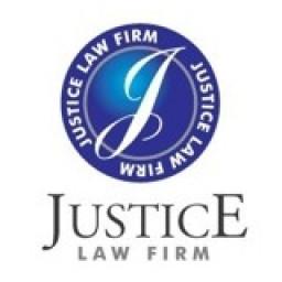 Logo Công ty Luật TNHH Chính Nghĩa Luật (JUSTICE)