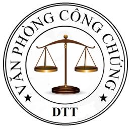 Logo Văn Phòng Công Chứng Dương Thanh Tú