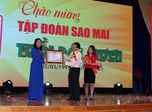 Hình ảnh Tập đoàn Sao Mai tỉnh An Giang