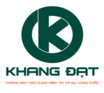 Logo Công ty Cổ phần Đầu Tư và Xây Dựng Khang Đạt