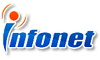 Logo Công ty CP Công nghệ Mạng và Truyền thông (INFONET)