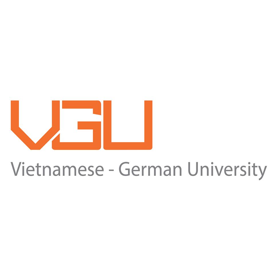 Logo Vietnamese - German University - Trường Đại học Việt - Đức (VGU)