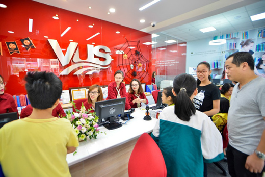 Hình ảnh Công ty Cổ phần Quốc Tế Anh Văn Hội Việt Mỹ (VUS)
