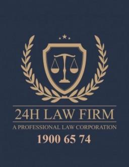 Logo Công ty Luật TNHH 24h