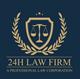 Logo Công ty Luật 24h