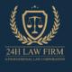 Logo Chi nhánh Công ty Luật 24h - Thanh Hóa