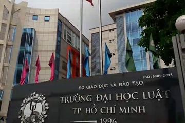 Bài kiểm tra năng lực minh họa của Đại học Luật TP HCM